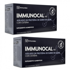 "IMMUNOCAL CLASSIC (2 BOXES) by IMMUNOTEC ""GLUTATHIONE PRECURSOR"" FREE SHIPPING!!"