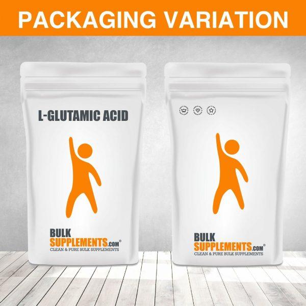 BulkSupplements.com L-Glutamic Acid 10