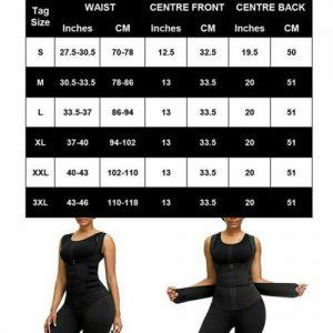 Women's Waist Trainer Vest Gym Slimming Adjustable Sauna Sweat Belt Body Shaper 1