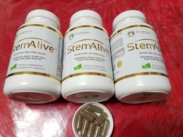 3 STEM ALIVE  Stem Food Holistics CELULAS MADRE 90 caps each EXP 09/2022 New 3
