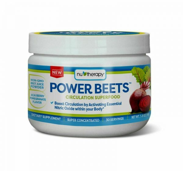 Power Beets Super Concentrated Circulation Superfood Dietary Supplement Non-GMO