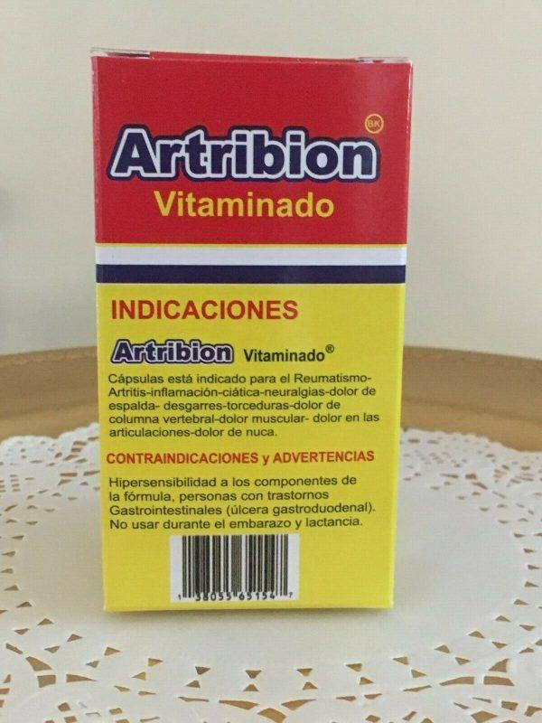 ARTRIBION Vitaminado Artritis, Inflamacion, Dolor, Reumatismo 30 soft Capsules  5