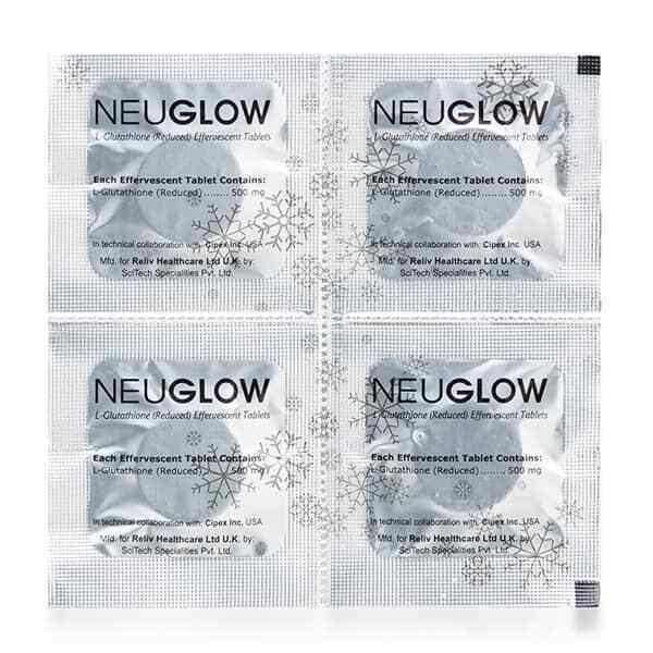 Neuglow L-Glutathione Premium White 28 Whitening effervescent tablets 8