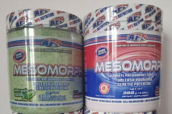 APS Mesomorph 388 grams OG Formula **Choose Your Flavor** 2