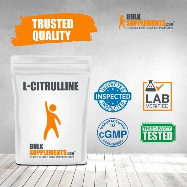 BulkSupplements.com L-Citrulline 7