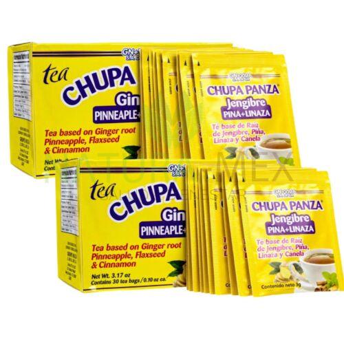 ORIGINAL‼️ 2 PACK Chupa Panza Detox Ginger Tea 60 Day Supply Te Chupa Pansa 1