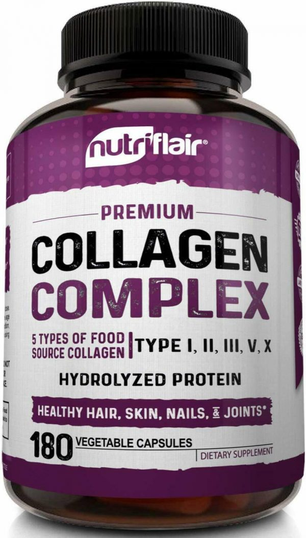 Multi Collagen Peptides Capsules 2250MG - Healthy Bones, Hair, Skin, and Nails 2