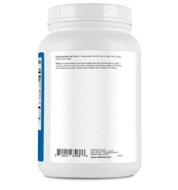 Nutricost Organic Whey Protein Powder (Unflavored) 2 LB - Non-GMO 3