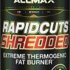 ALLMAX Nutrition Rapidcuts Shredded Fat Burner Capsules, 90 Capsules (Pack of 1)
