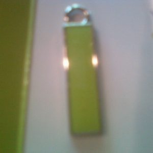 WW WEIGHT WATCHERS FREESTYLE LIGHT GREEN FIFTEEN/15 POUND LB WEIGHT LOSS CHARM 1