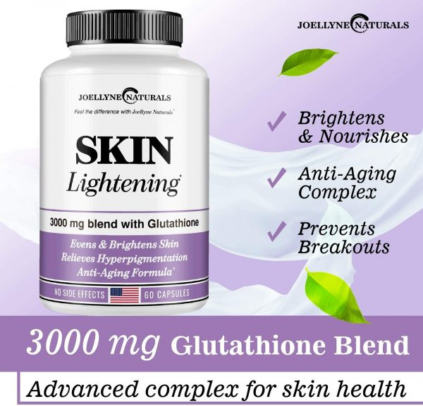 Skin Whitening Pills Lightening Pills 3000mg Glutathione Lightening Pills 60 pcs 1