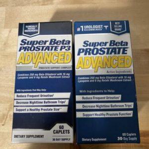 (New) Super Beta Prostate P3 Advanced By New Vitality - 60 Caplets exp 5/2022+ 1
