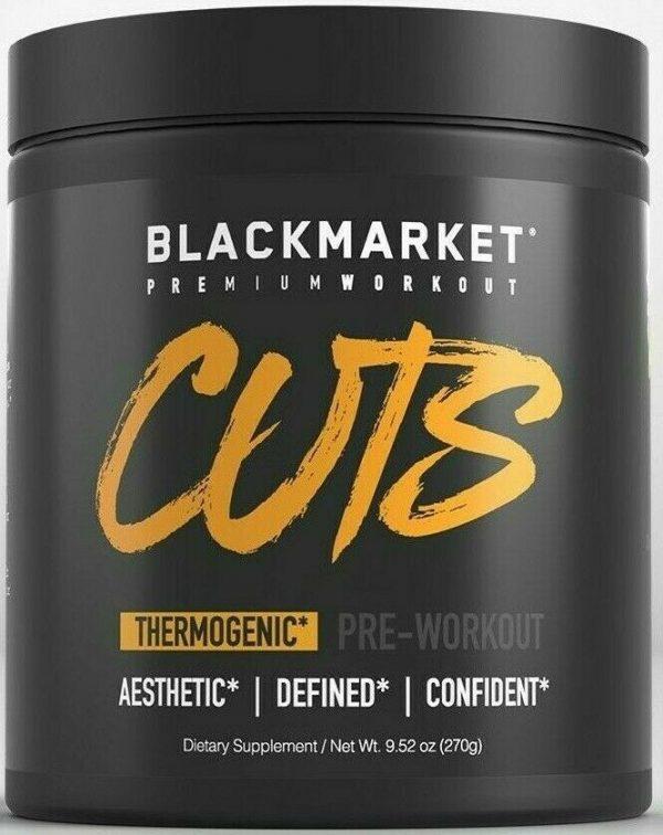 BLACKMARKET LABS - CUTS Pre Workout 30 Servings (Choose Flavor)