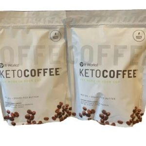 2 Bags Brand New It Work Keto Coffee  (30 Packets Total)