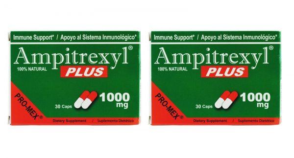 Ampitrexyl Plus 1000mg Capsules 30's, (2 BOXES)  Exp 03/2023