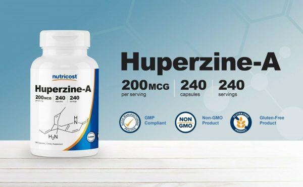 Nutricost Huperzine A Capsules 200mcg, 240 Capsules - Non-GMO, VegetariaFriendly 2