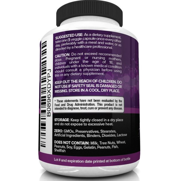 Nutrivein Zinc Picolinate 100mg - 120 Capsules - Immunity Defense Max Strength 6