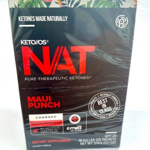 Pruvit Keto OS NAT Maui Punch charged 20 Sachets (Maui Punch)