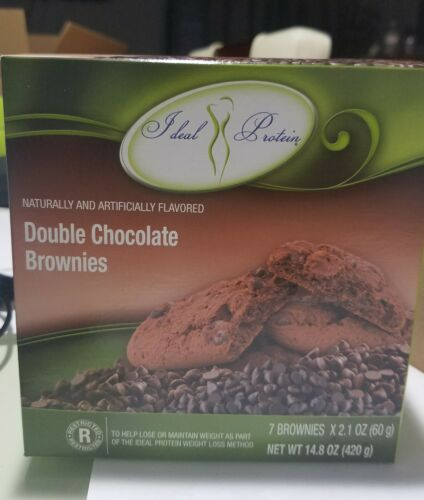 Ideal protein Double Chocolate Brownies  bundle of 2 Boxes  1