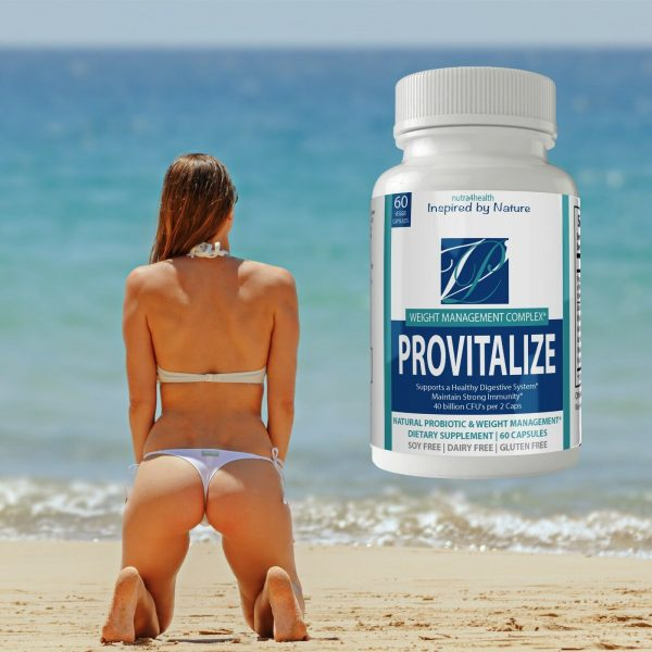 2 Bottle Pack Provitalize Probiotic Weight Management Pills ORIGINAL by n4h 5