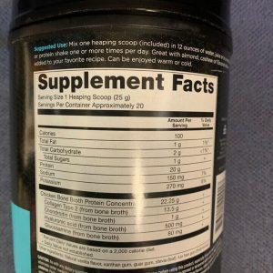 Ancient Nutrition Bone Broth Protein VANILLA Paleo Friendly 17.4 oz BB 10/21+ 1