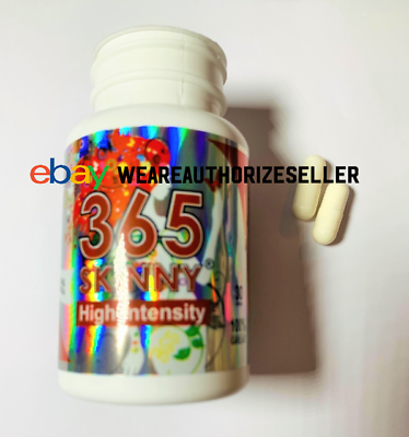 365 Skinny High Intensity Diet Pills/pastillas Para Bajar De Peso 3