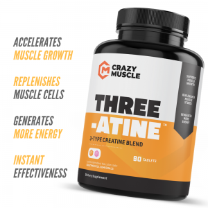 Crazy Muscle® Creatine Monohydrate Pills: [PROVEN] Muscle Building Supplement ✅✅ 1