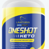 ONESHOT KETO  PURE & PATENTED EXOGENOUS KETONES, BOOST ENERGY 60 PILLS