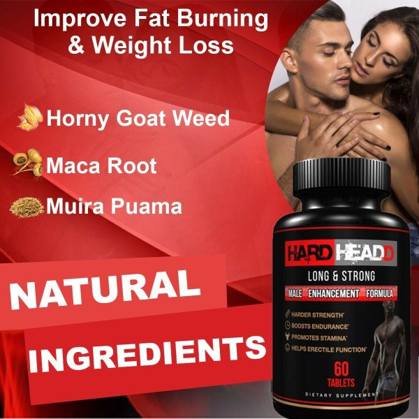 Sex Pill - increase 2+ inches - Male Enhancement & Testosterone Booster  3