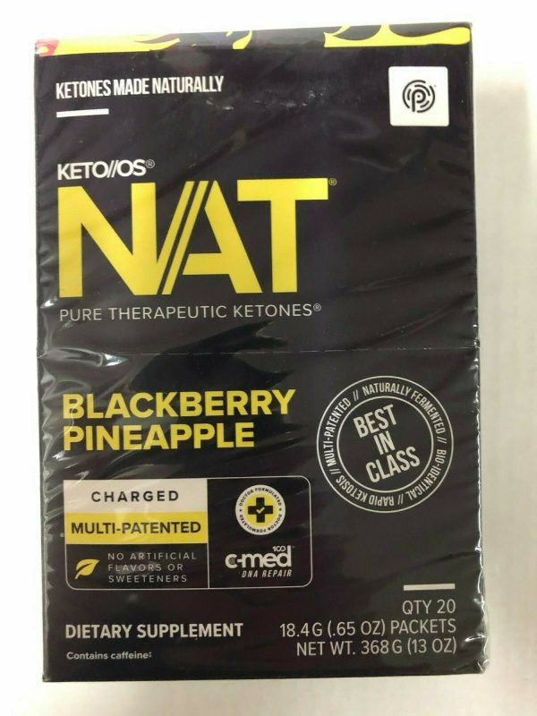 Pruvit Keto OS NAT Blackberry Pineapple 5,10 & 20 Packs Free Shipping 2