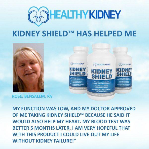 Kidney Shield Supplement Health Renal Detoxing Function Cleansing Omega 3  3