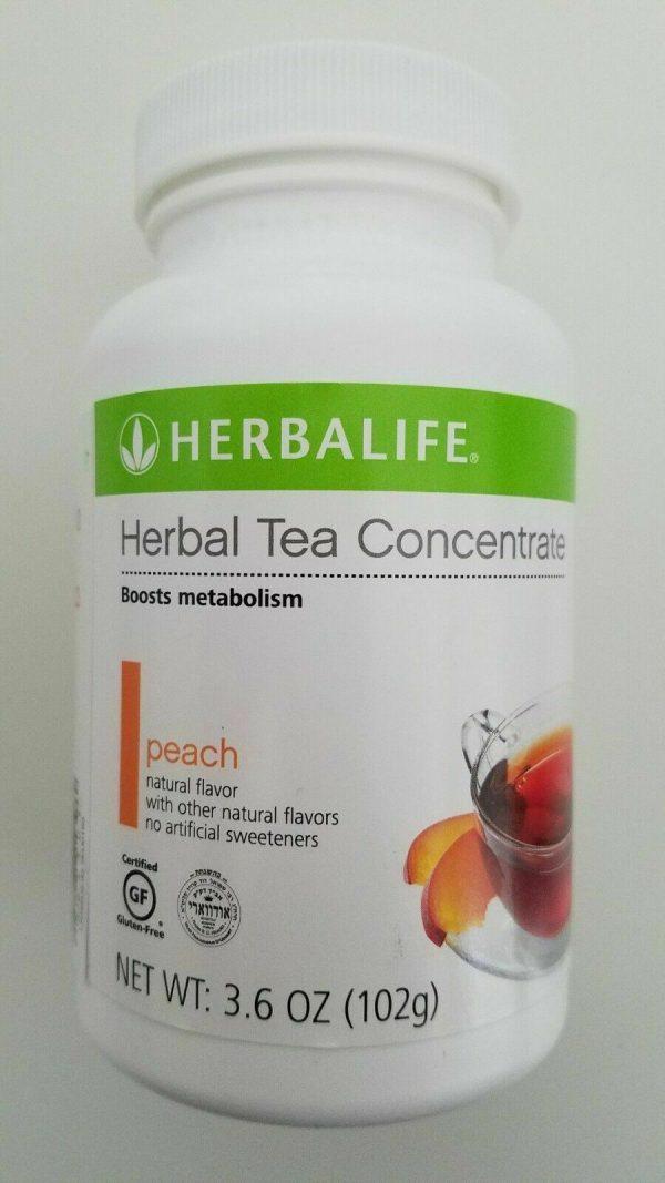 Herbalife Herbal Peach Tea Concentrate 3.6oz