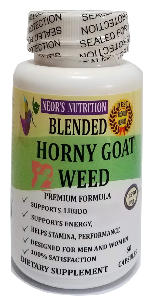 Horny Goat Weed Extract with Maca, Tribulus, L-Arginine, Tongkat Ali, Ginseng 2