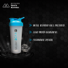 Protein Shaker Bottle with Metal Mixing Ball - Modern BCAA®