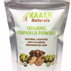 TRIPHALA POWDER 100% Natural Raw,Gluten Free,USDA Certified Organic
