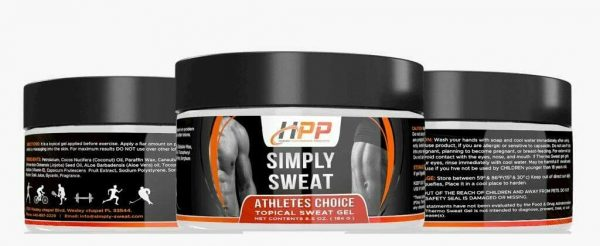 Simply Sweat Original 6.5oz Workout Enhancer Gel by HPP same as Sweet Sweat 3
