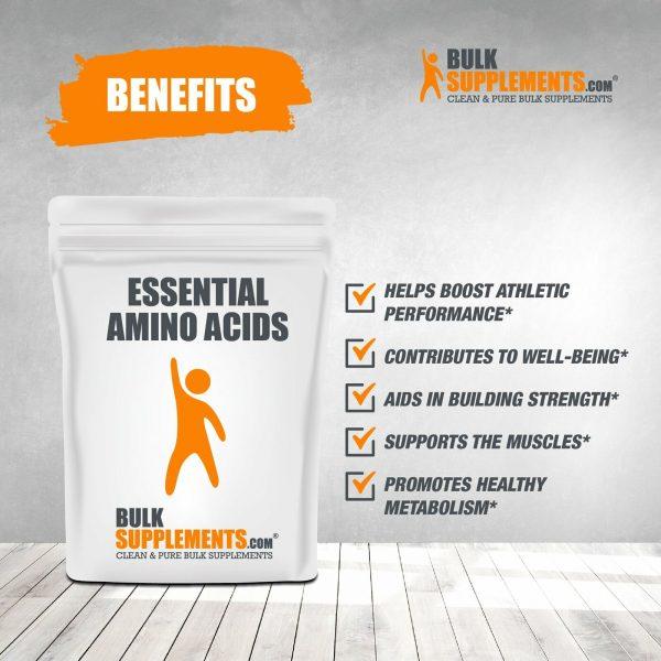 BulkSupplements.com Essential Amino Acids (EAA) 7