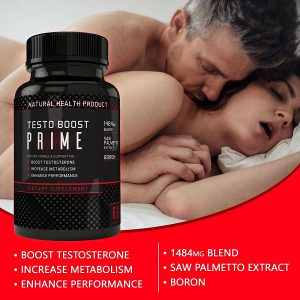 Testosterone Booster Male Enhancement,Pills,Improve Sex Stamina Performance 60ct