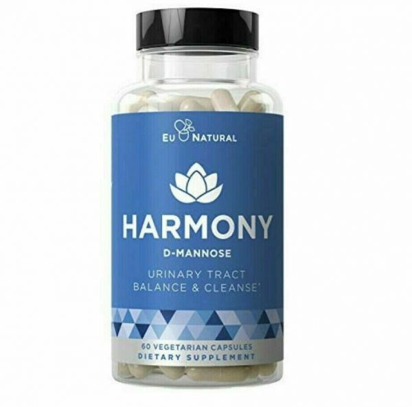 Harmony - Urinary Tract & Bladder Cleanse - 60 Vegetarian Capsules by Eu Natural