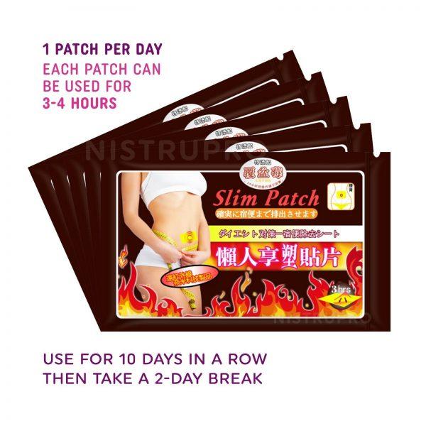 Slim Patch Fast Fat Burn Weight Loss Diet Slimming Sticker Pad - 50, 100, 200 pc 1
