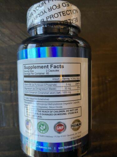 Striction BP Advanced Formula Support Healthy Blood Pressure StrictionBP Exp9/22 1