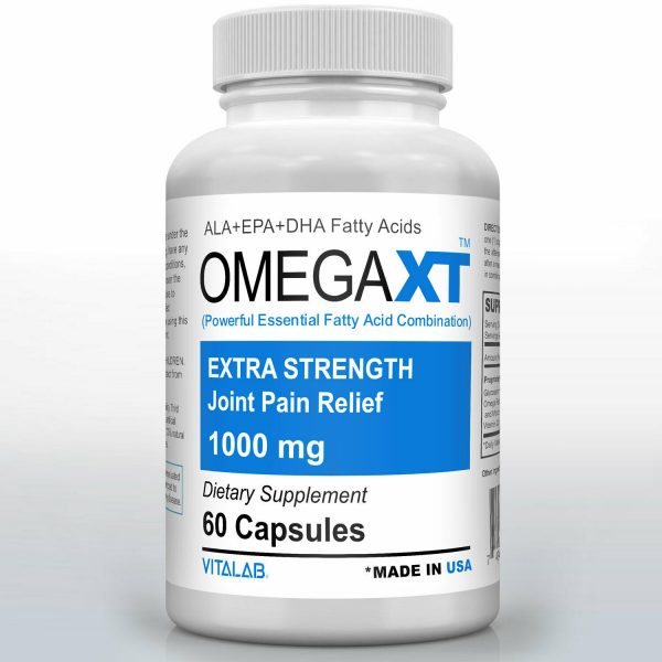 Official Omega XT Extra Strength Joint Support Omega-3 Joint Pain Relief 60ct 1