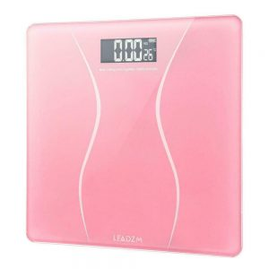 Bathroom Scales 180KG Digital Personal Body Scale Weight LCD 400lb + 2 x Battery 1