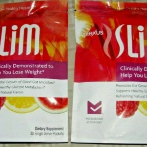 Plexus Slim, Pink Drink, Microbiome Activating, 60 Once Daily Packets 2 Pack !!