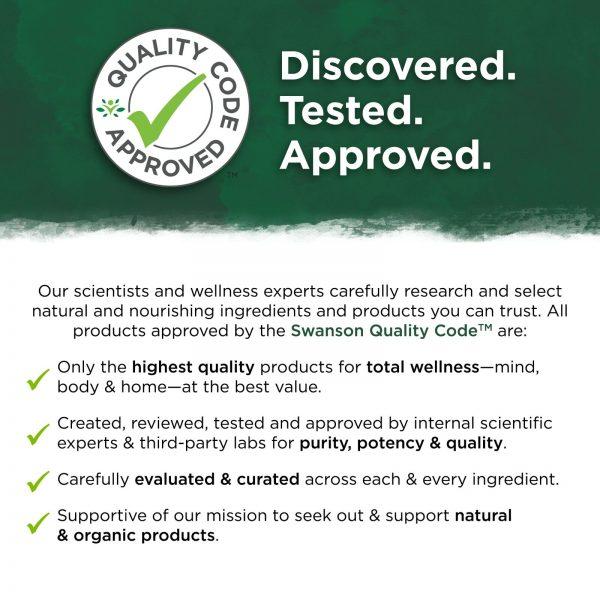 Swanson Probiotic+ Prebiotic Fiber 500 Million Cfu 60 Veggie Capsules 2