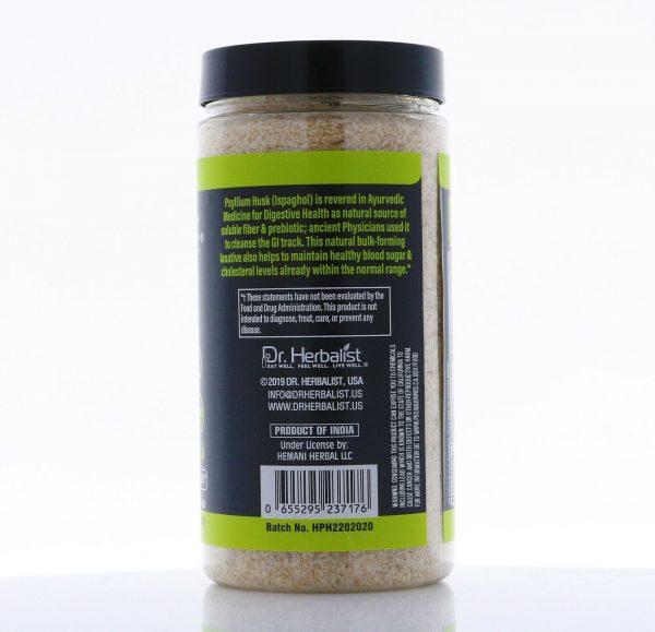 Psyllium Husk Powder 135g I 100% Natural Fiber I Dr Herbalist I Keto I F/S 1