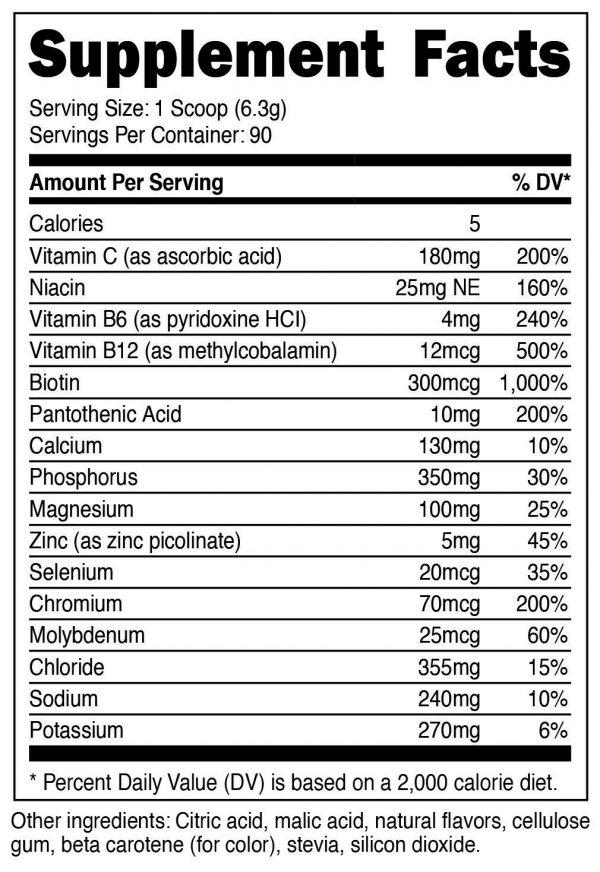 Nutricost Electrolyte Powder, Advanced Hydration Complex, 90 Servings, (POG) 1