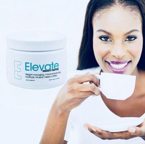 #1 Authentic Elevate Smart Happy Coffee Tub 30  Elevacity Please Read 11/2021. 2