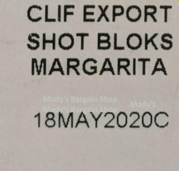 Clif Bloks During Energy Chews 18 Packs Margarita Citrus + Sodium BNIB 2