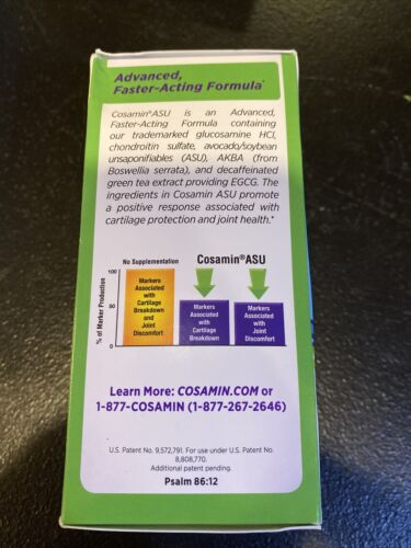 New Cosamin ASU Dietary Supplements 90 Count Exp:02/2022 Or Better! 1